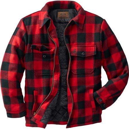 Legendary Whitetails Mens Outdoorsman Buffalo Jacket
