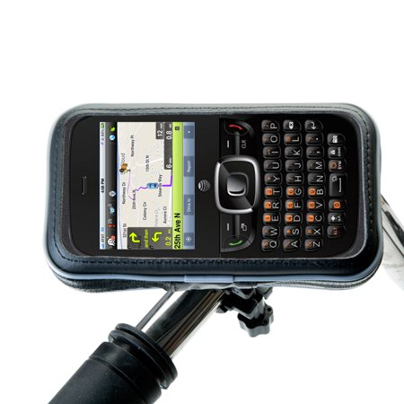 Heavy Duty Weather Resistant Bicycle / Motorcycle Handlebar Mount Holder Designed for the ZTE Altair 2