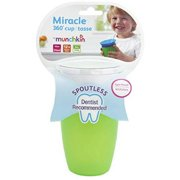 Munchkin Miracle 360 Cup 10 oz, Assorted Colors 1 ea (Pack of 4)