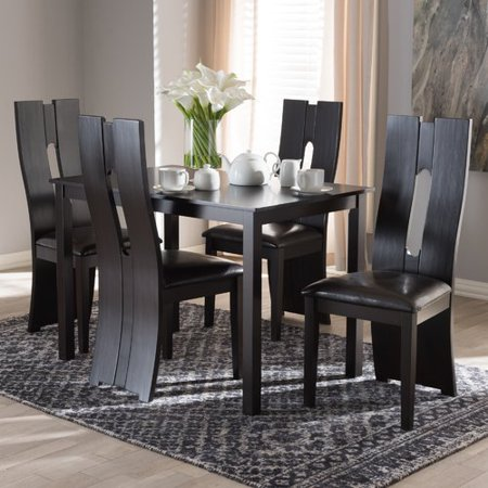 Orren Ellis Onsted Modern And Contemporary 5 Piece Breakfast Nook Dining Set