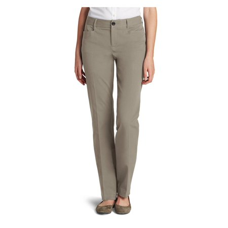 Curvy Womem (Eddie Bauer Womens Curvy StayShape Stretch Twill)