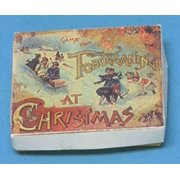 Dollhouse Tobogganing Box With Antique Repro Lid