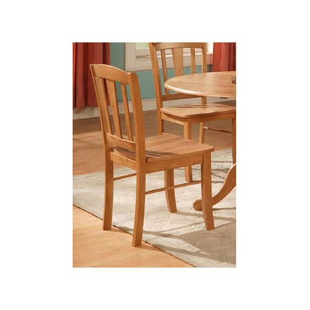 Wooden Kitchen Chair Set Of 2