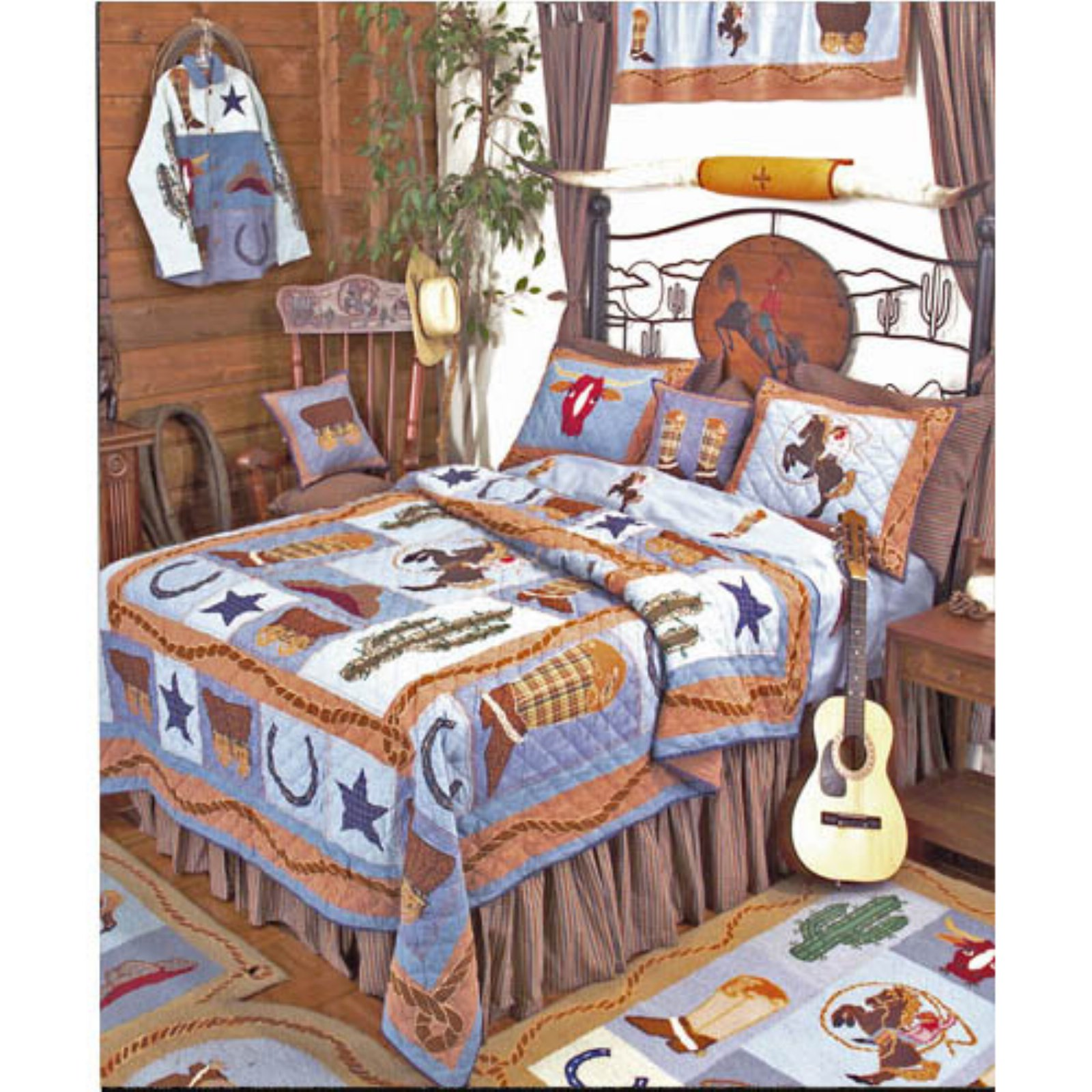 Cowboy Quilt (King)