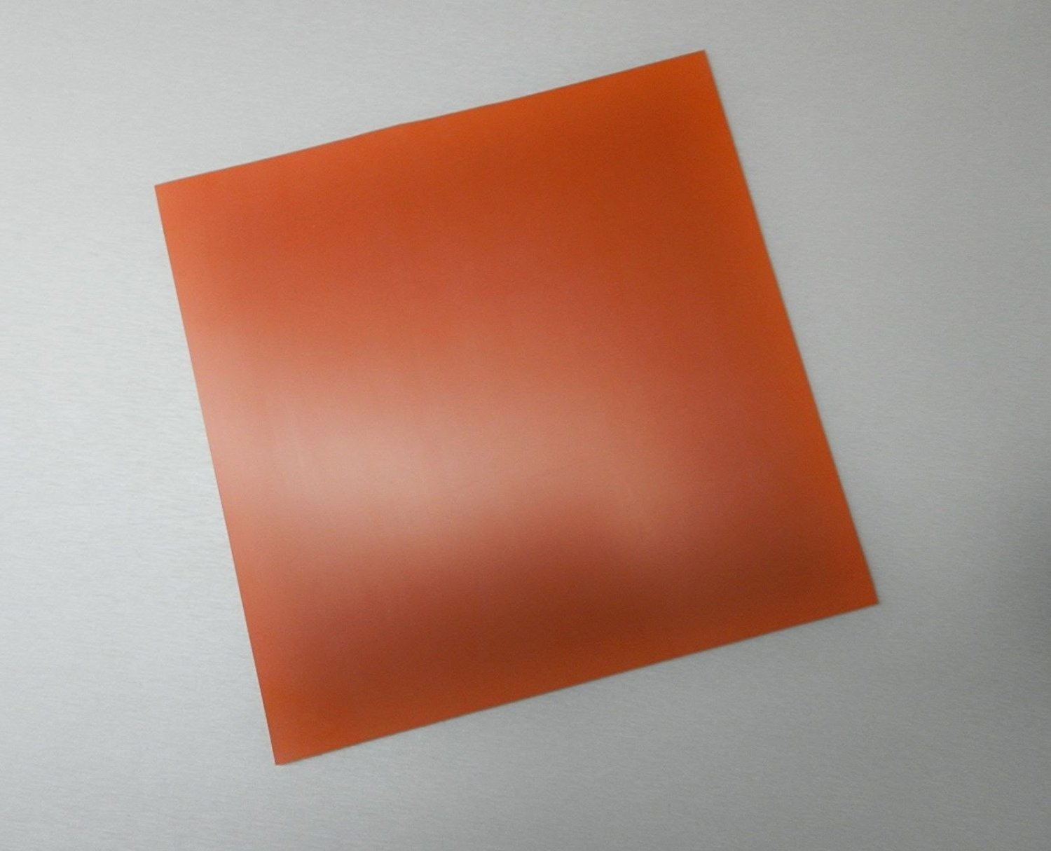 """12/"""" x 12/"""" Silicone Rubber Solid Sheet Commercial Grade 1//8/"""" Thick Hi Temp"""