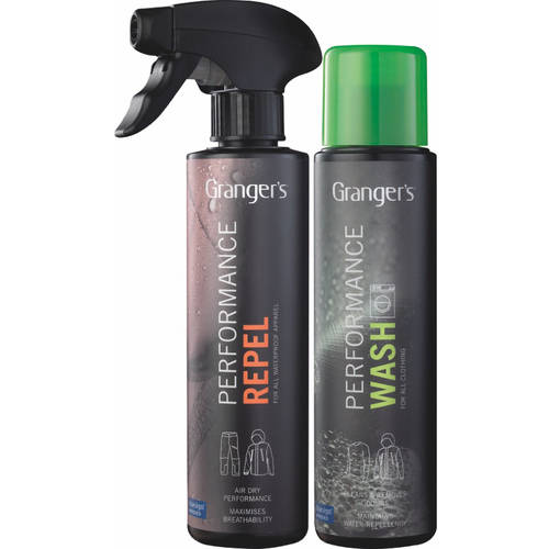 Granger's Performance Wash and Performance Repel Waterproofer for Outerwear Hard Shell Care Kit   The Ultimate washing... by Granger'S
