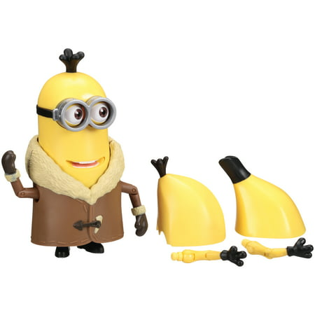 minions build a minion arctic kevin banana figure 7 pc carded pack