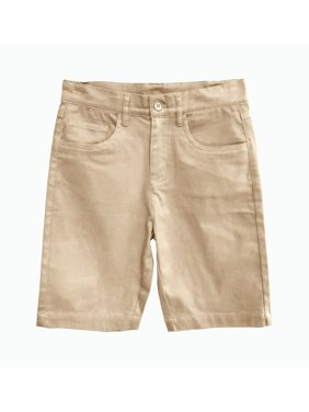 Eddie Bauer Boys 4-16 School Uniform 5 Pocket Stretch Twill Shorts