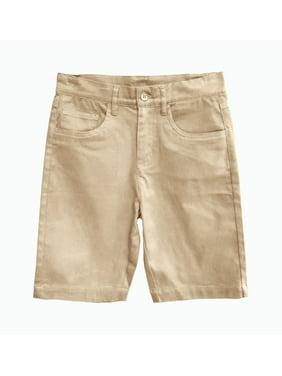 Eddie Bauer Boys 4-16 School Uniform 5 Pocket Stretch Twill Shorts