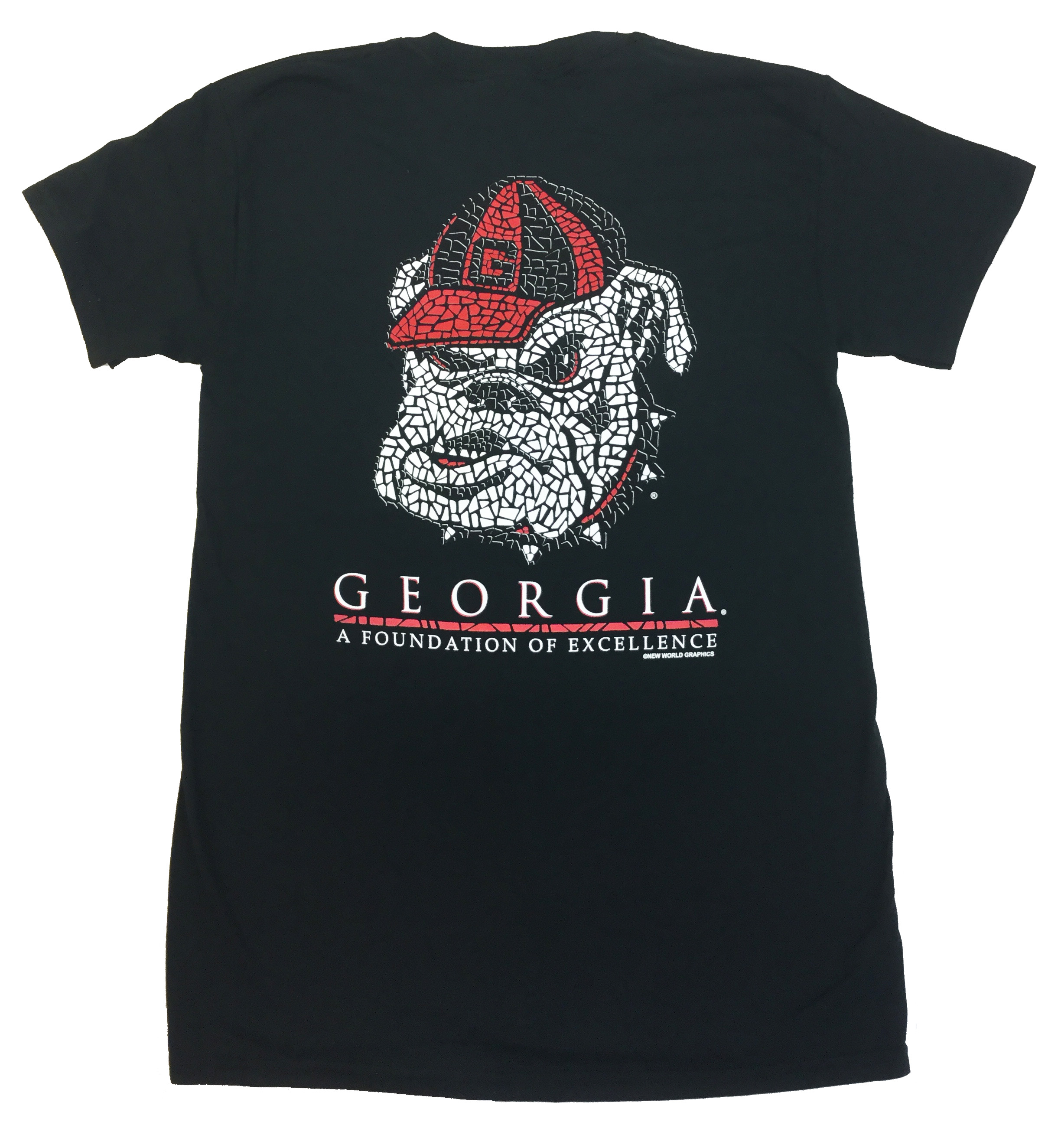 Georgia Bulldogs Mosaic T-shirt