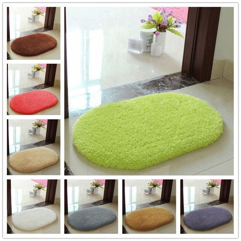Soft Absorbent Memory Foam Bath Bathroom Bedroom Floor Shower Mat Non-slip Rug