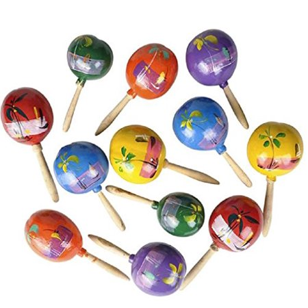 7' Genuine Mexican Maracas (colors may vary)