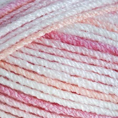 Mary Maxim Trendy Baby Yarn - Playful Pink Variegated