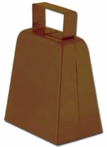 """4"""" Metal Cowbell Cow Bell Sports Toy Instrument Noisemaker Noise Maker by Beistle"""