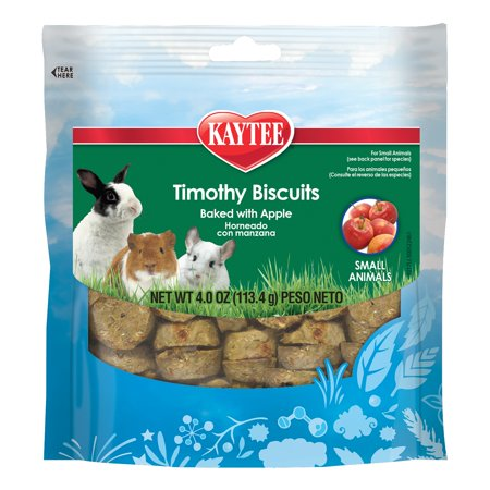 Kaytee Timothy Biscuits Baked Apple Treat, 4oz - Halloween Apple Treats