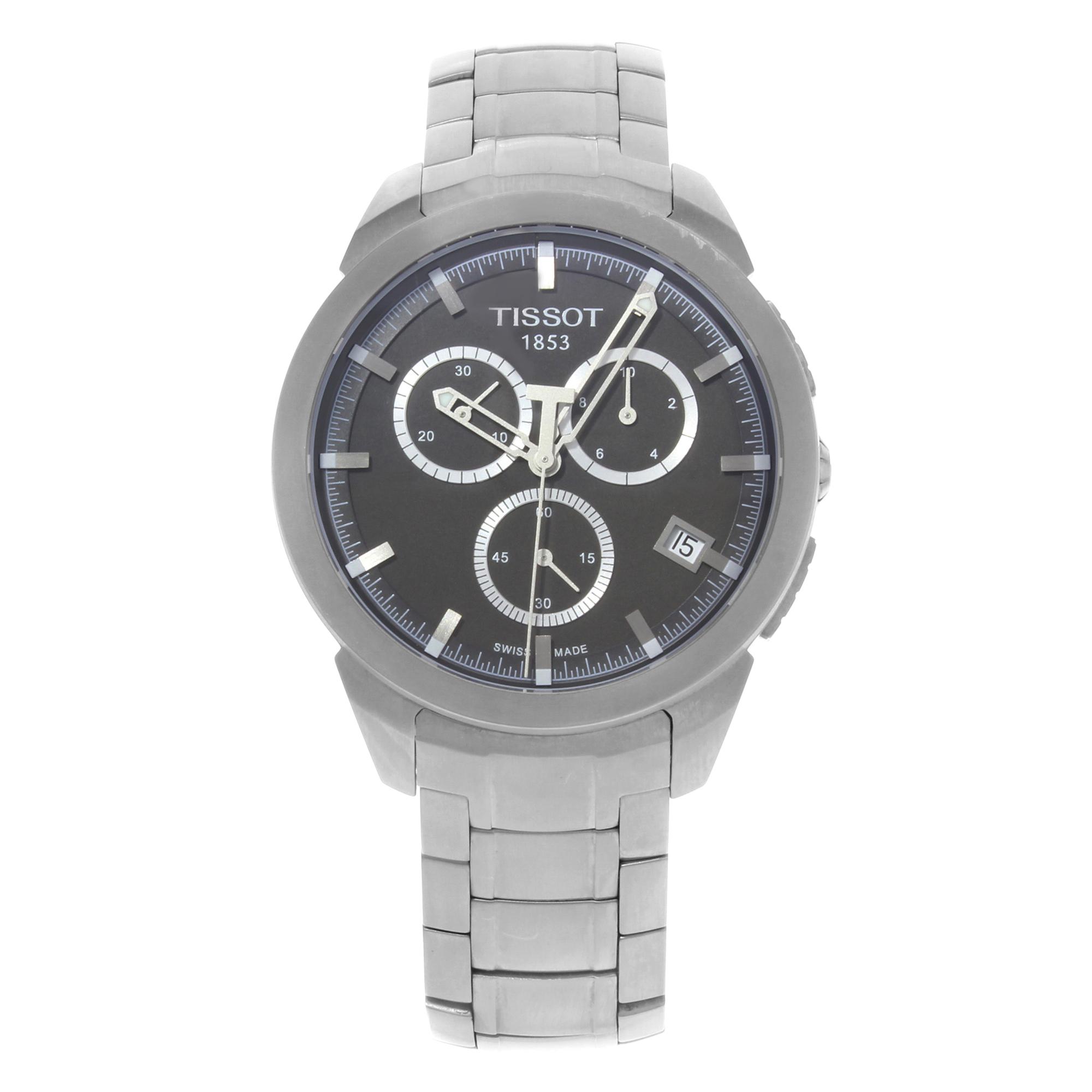 Tissot T069.417.44.061.00 Titanium Chronograph Quartz Men...