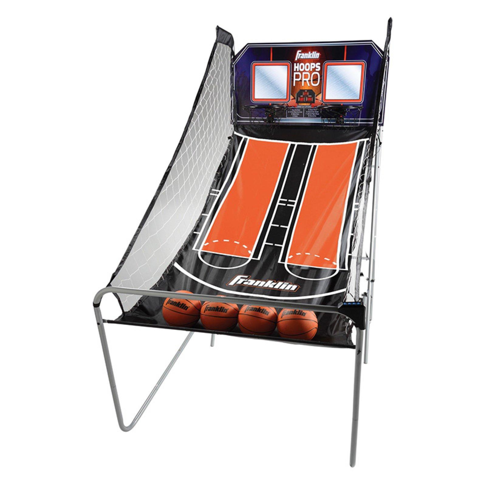 "Franklin Sports Double Shot Hoops Pro Arcade Basketball, 82"" x 42"" x 81"""
