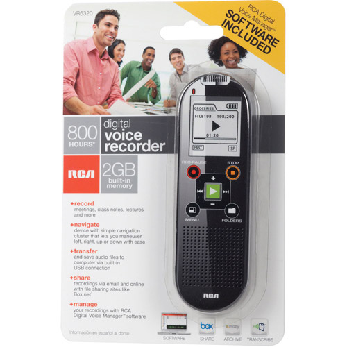 RCA VR6320 Digital Voice Recorder