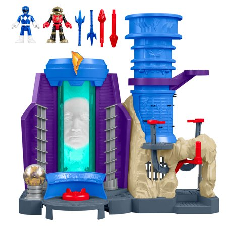 Imaginext Power Rangers Headquarters (Power Rangers Jungle Fury Red Ranger Toy)