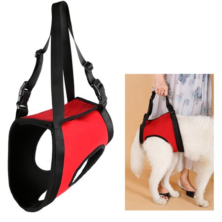 Dog Lift Harness Hind Leg Lifting Canine Aid Assist Sling for Medium Dogs Disabled Injured Elderly Recovery Training ()
