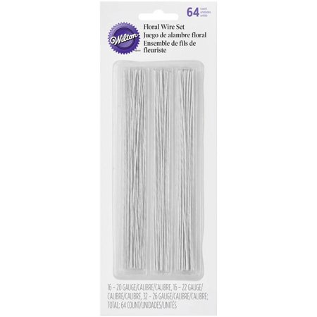 Gum Paste Floral Wire, 64pk (Floral Wire)