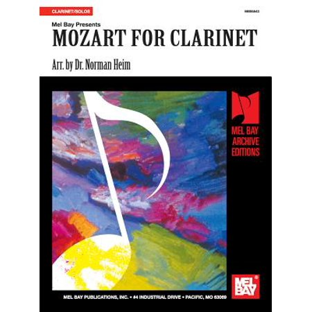 - Mozart for Clarinet