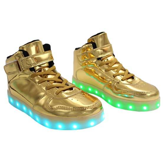 de951a31a58584 Galaxy Shoes - Galaxy LED Shoes Light Up USB Charging High Top Lace ...