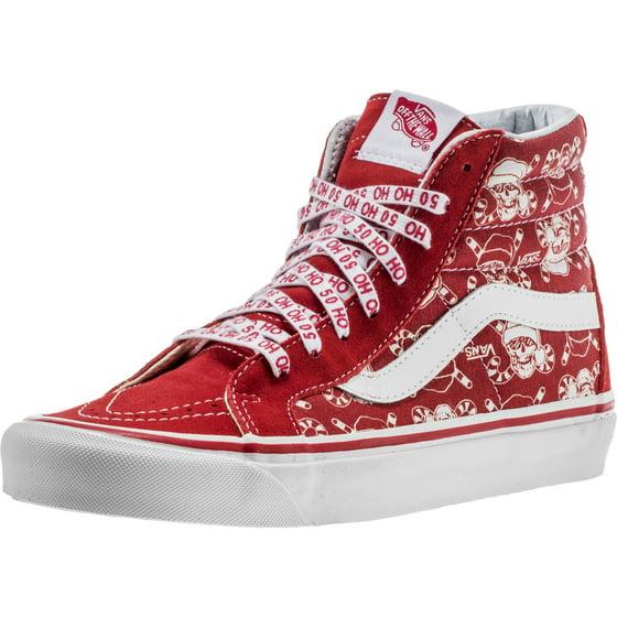 80185b492f Vans - Vans SK8 Hi 38 Reissue 50th Stv Pirate Santa Red Men s Skate ...