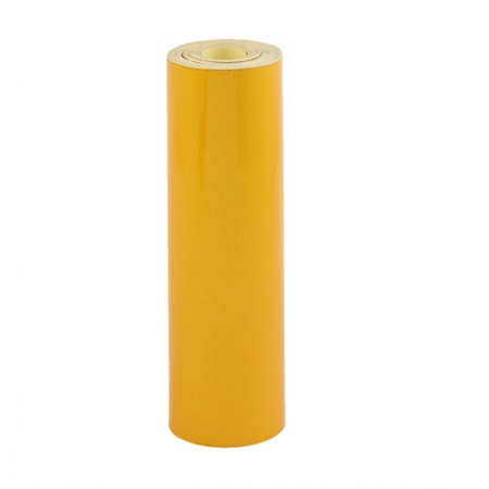 20cmx10m face autocollants sécurité réfléchissants Avertissement jaune - image 1 de 3