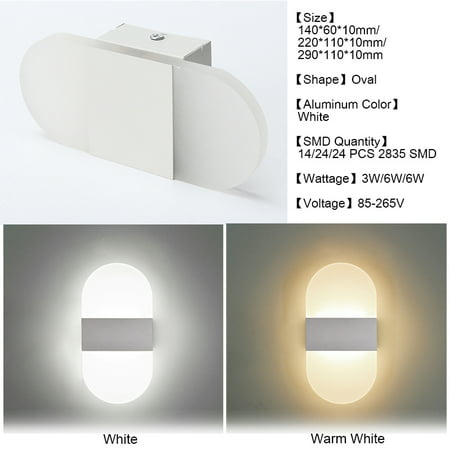 - AC100-240V Modern Acrylic LED Wall Sconces Light Up Down Cube Indoor Outdoor Sconce Lighting Bedside Night Lamp for Hallway Living Room Lamp Pathway Bedroom