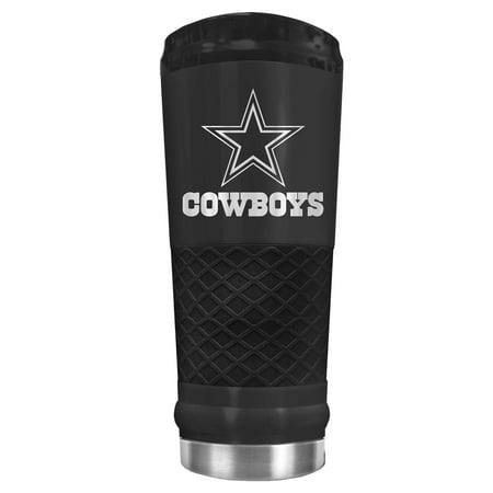 Dallas Cowboys 24oz Stealth Matte Tumbler - Black - No Size - Dallas Cowboys Cups