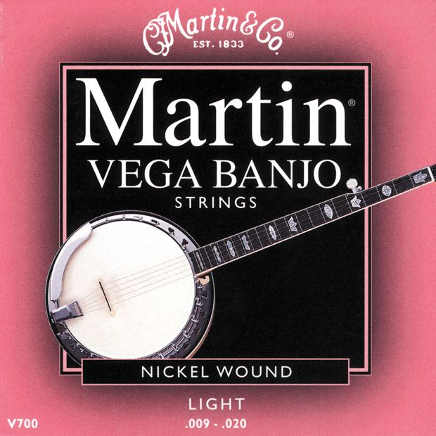 Martin V700 Vega Light Banjo Strings