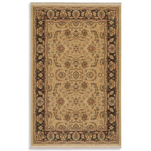 Karastan Ashara Toscano Wool Brown Earth Area Rug by Mohawk Carpet Distribution LP
