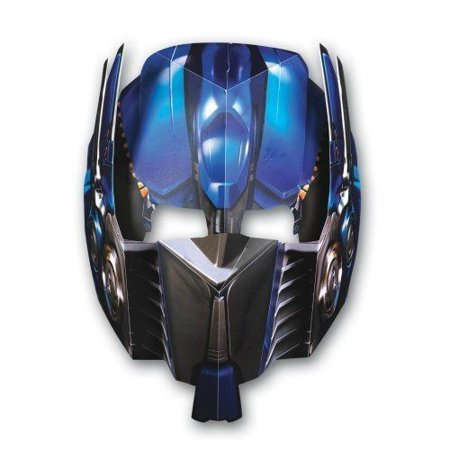 Transformers Optimus Prime Paper Masks (4ct)](Optimus Prime Mask)