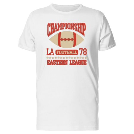 Championship La Football Tee Men's -Image by Shutterstock Championship Football Shirts