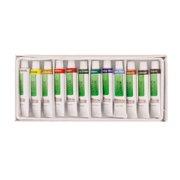 US Art Supply® 12 10ml Tube Artist Acrylic Paint Set Quick Drying Water Based