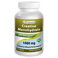 Best Naturals Creatine Monohydrate 1000mg, 240 Ct