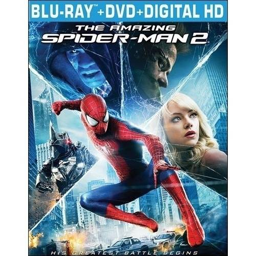 The Amazing Spider-Man 2 (Blu-ray + DVD + Digital HD) (With INSTAWATCH) (Widescreen)