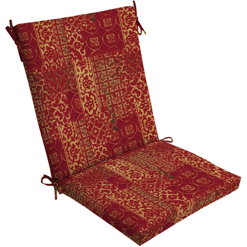 Mainstays Outdoor Dining Chair Cushion