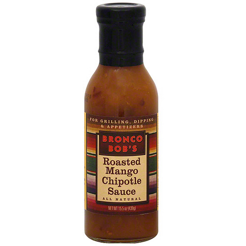 Bronco Bob's Roasted Mango Chipotle Sauce, 15.5 oz (Pack of 6) by Generic
