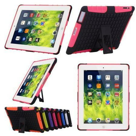 Zeimax® iPad 2/ 3/ 4 Hard Shell Case with Kickstand Stye 1 (Hot