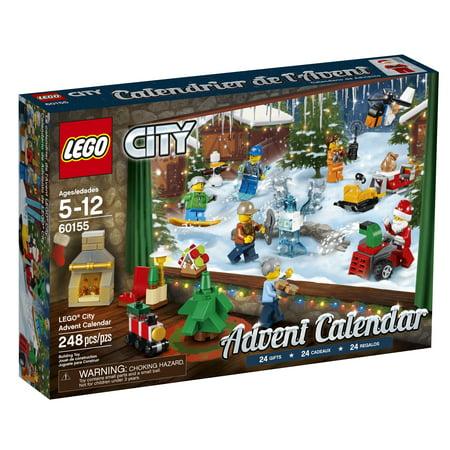 Lego City 2017 Advent Calendar 60155