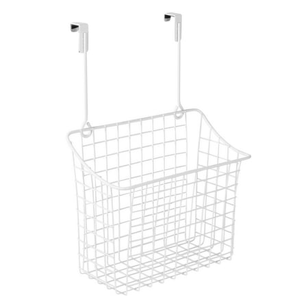 Spectrum Diversified Grid Over the Cabinet Large Basket, White, 56300 ()