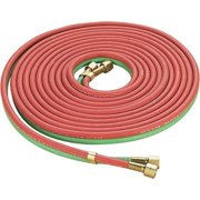 """Ktaxon 25' x 1/4"""" Oxygen & Acetylene Twin Welding Hose, Heavy Duty 300PSI Working Pressure Hose, for Welding Cutting Gauging Soldering, Perfect for Industrial Use"""