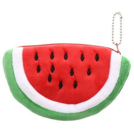 StylesILove Cute Watermelon Mini Multi-use Coin Purse (1-Pack) - Watermelon Bag