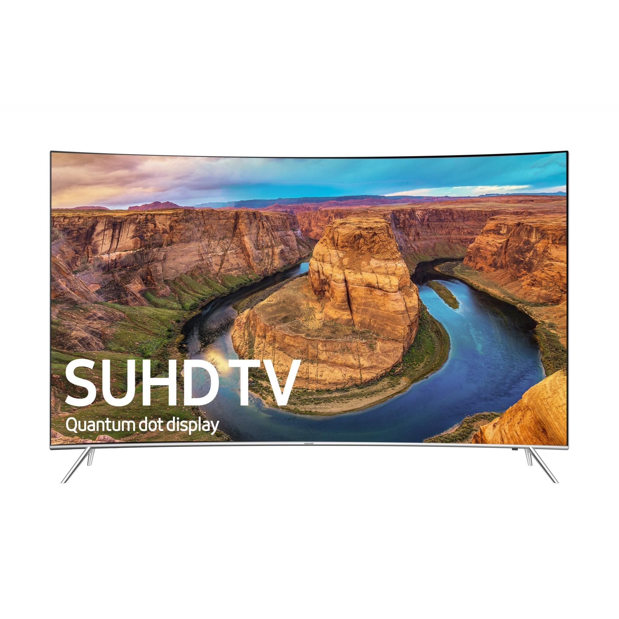 "SAMSUNG 55"" 8500 Series - Curved 4K SUHD Smart LED TV - 2160p, 120MR (Model#: UN55KS8500)"
