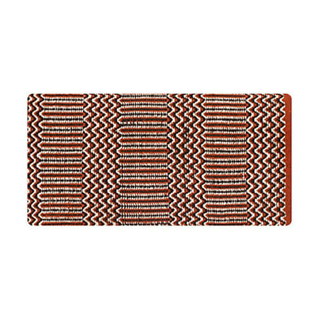 - Mayatex Ramrod Acrylic Saddle Blanket Rust