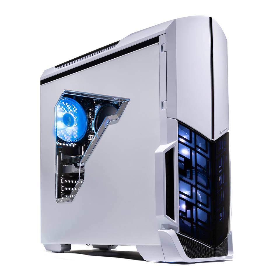 Skytech NVIDIA GeForce RTX 2060 Archangel Elite Gaming Computer Desktop PC AMD Ryzen 5 2600 3.4 GHz, RTX 2060 6G, 8GB DDR4, 500GB SSD, Windows 10 Home