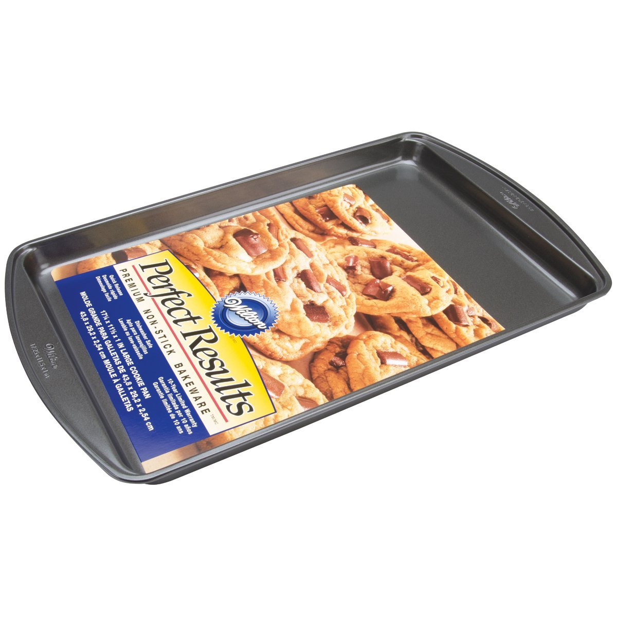 2105-6795 Perfect Results 17.25 11.5-Inch Nonstick Cookie Pan, Large LARGE, Ship from USA,Brand Wilton by