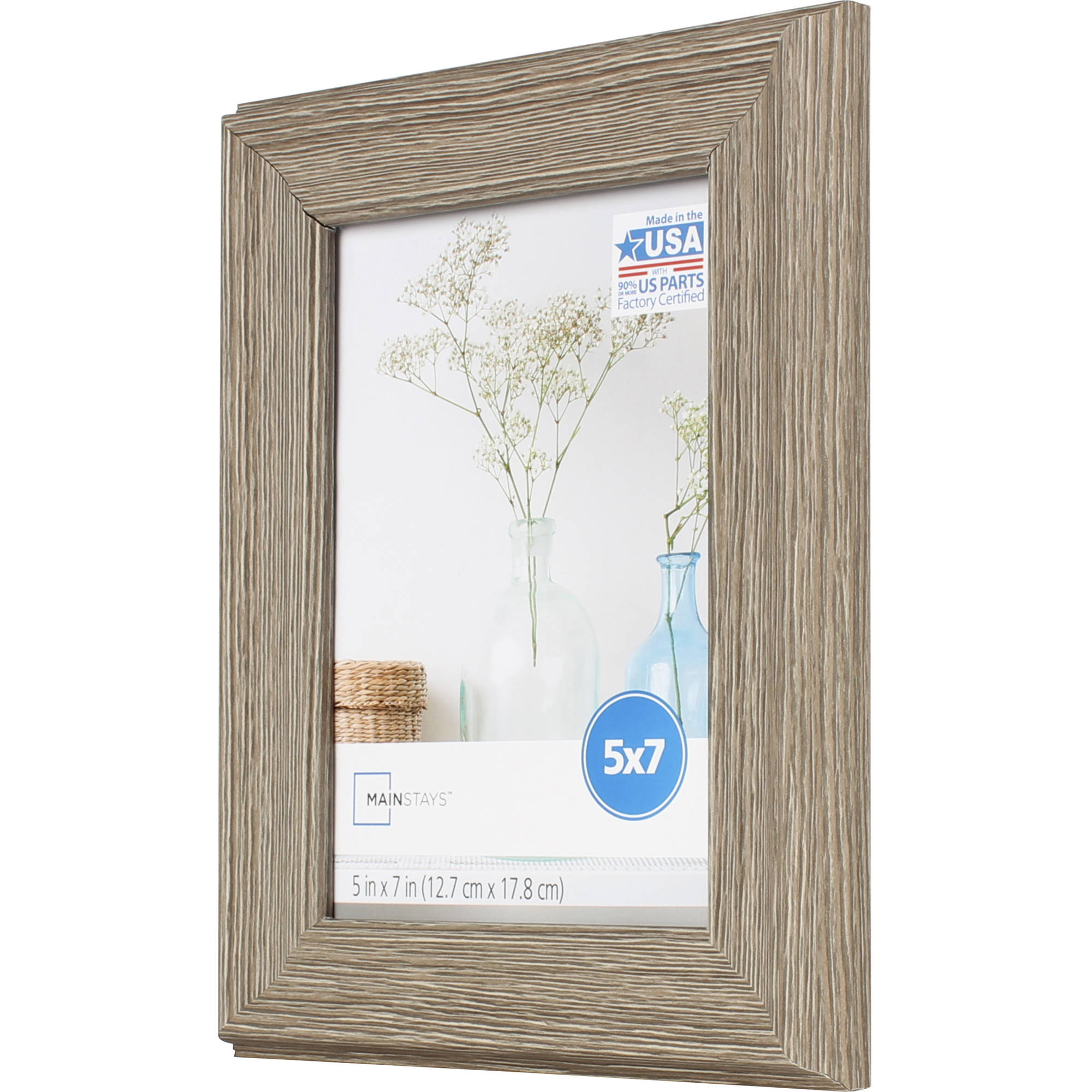 "6/""x 4/"" 15.24 x 10.16 cm  WALNUT Modern Wooden Picture Frames"